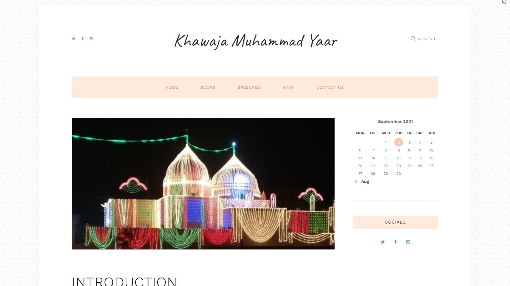 Khawaja Muhammad Yaar